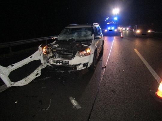 171 – 04.12.2017 – Verkehrsunfall lage Unklar – Autobahn A 62