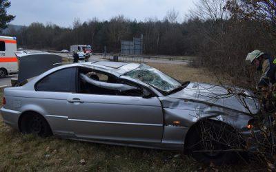 051 – 27.03.2018 – Verkehrsunfall – A62