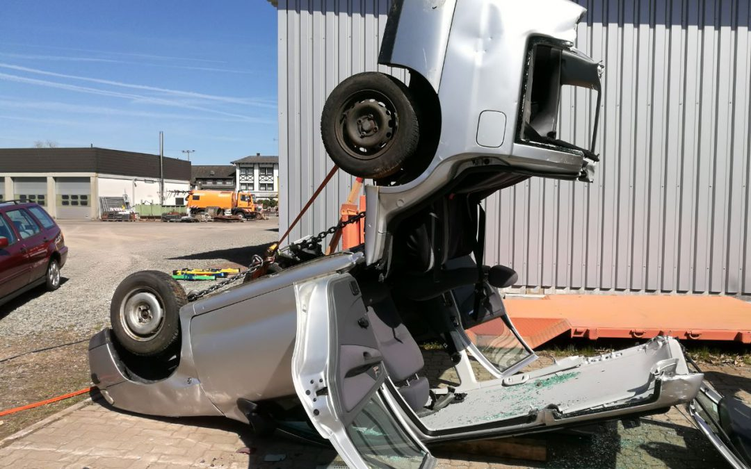 """Plan """"B"""" – Ausbilder üben Verkehrsunfälle"""