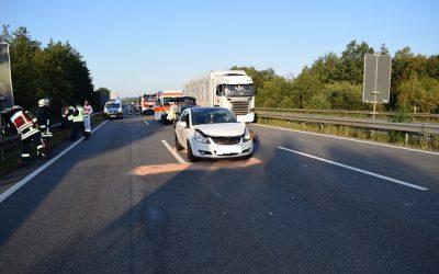 240 – 02.09.2019 – Verkehrsunfall – A6